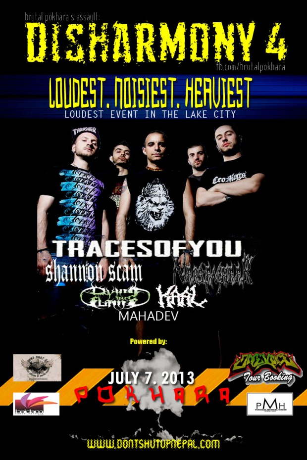 DISHARMONY 4 FLYER